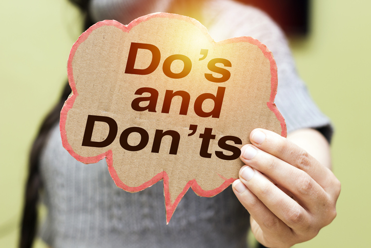 5. Do's and Don'ts with Muslims