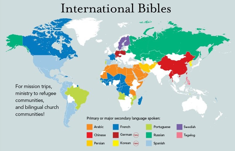 The Bible in Many Languages